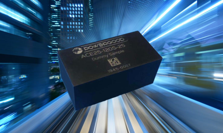 New Release!ACE25 Series - 2*1 compact size 25W AC DC module